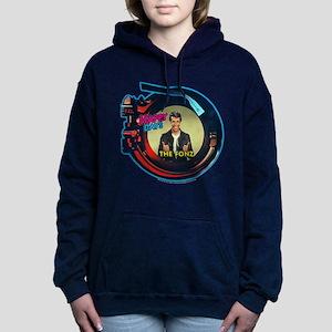 Happy Days Jukebox Fonz Women's Hooded Sweatshirt
