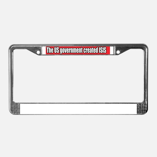 Cool Isis License Plate Frame