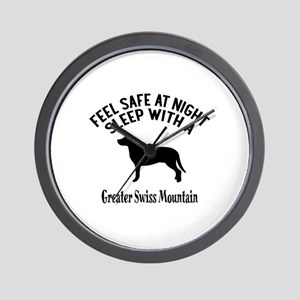 Feel Safe At Night Sleep With Greater S Wall Clock