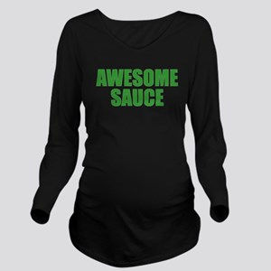 Awesome Sauce Long Sleeve Maternity T-Shirt