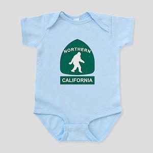 Northern California Bigfoot Sign (vintage look) Bo