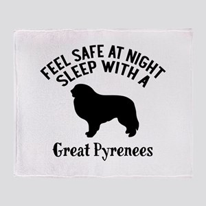 Feel Safe At Night Sleep With Great Throw Blanket