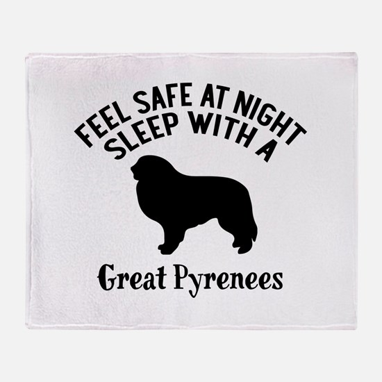 Feel Safe At Night Sleep With Great Throw Blanket