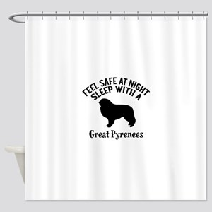 Feel Safe At Night Sleep With Great Shower Curtain