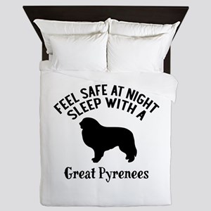 Feel Safe At Night Sleep With Great Py Queen Duvet