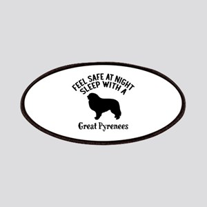 Feel Safe At Night Sleep With Great Pyrenees Patch