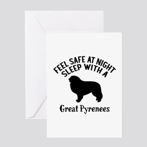 Feel Safe At Night Sleep With Great Greeting Card