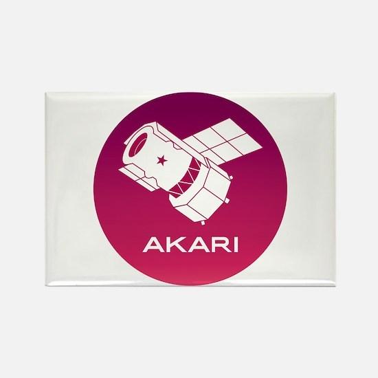 Akari Program Logo Rectangle Magnet