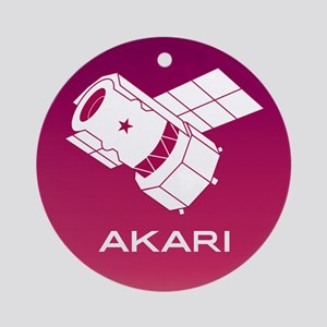 Akari Program Logo Round Ornament