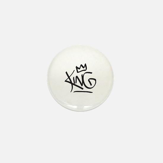 Funny Crown Mini Button