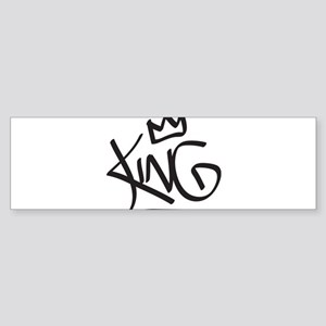 King Tag Bumper Sticker