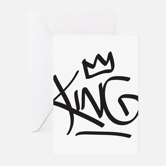 King Tag Greeting Cards
