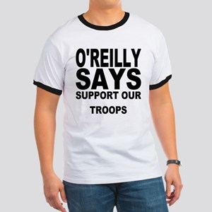 SUPPORT OUR TROOPS Ringer T