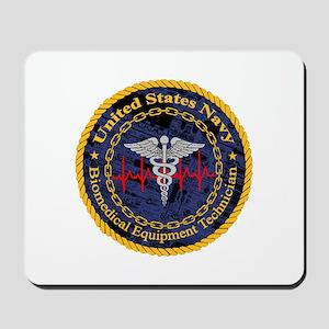 Navy Biomedical Equipment Technician Mousepad