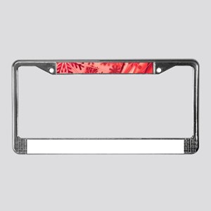 Christmas Greeting License Plate Frame