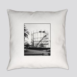The Galaxy at Pontcartrain Beach Everyday Pillow