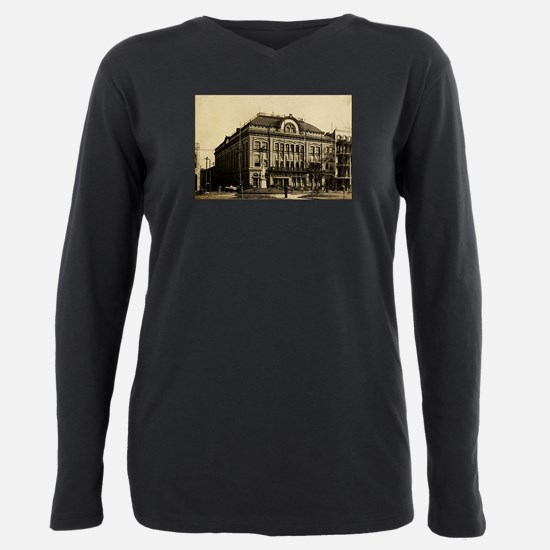 Odd Fellows Hall.png Plus Size Long Sleeve Tee
