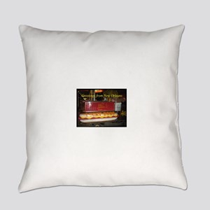 Lucky Dog Card Everyday Pillow