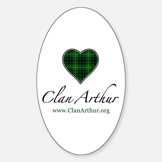 Love Clan Arthur Oval Decal
