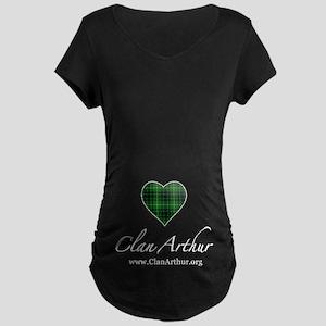 Love Clan Arthur Maternity Dark T-Shirt