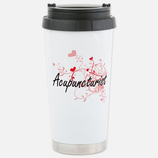 Acupuncturist Artistic Stainless Steel Travel Mug