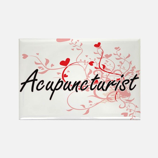 Acupuncturist Artistic Job Design with Hea Magnets