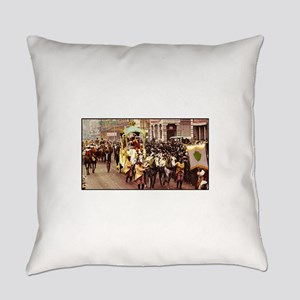 Rex Passing Camp St 1908 Everyday Pillow