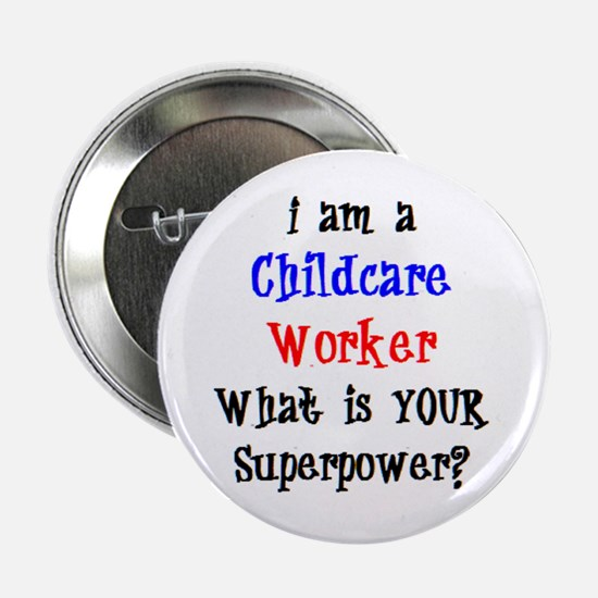 """childcare worker 2.25"""" Button"""