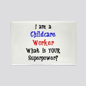 childcare worker Rectangle Magnet