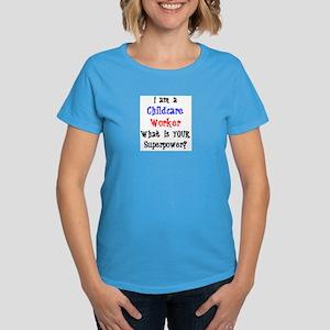 childcare worker Women's Dark T-Shirt
