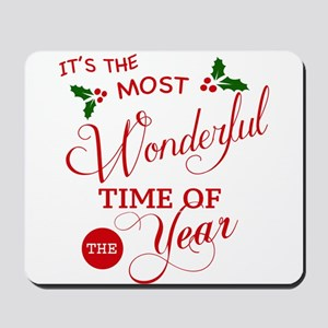 Wonderful Time of the Year Mousepad