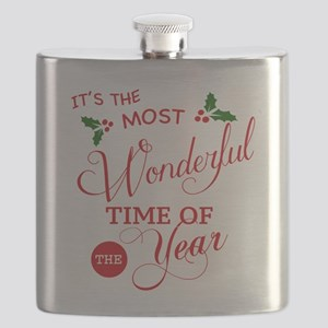 Wonderful Time of the Year Flask
