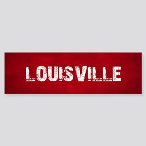 LOUISVILLE Bumper Sticker