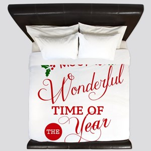 Wonderful Time of the Year King Duvet