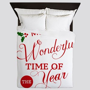 Wonderful Time of the Year Queen Duvet