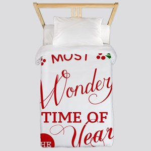 Wonderful Time of the Year Twin Duvet
