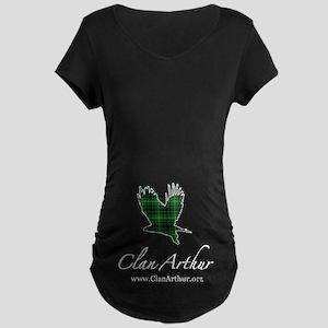 Clan Arthur Eagle Maternity Dark T-Shirt