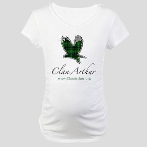 Clan Arthur Eagle Maternity T-Shirt