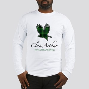 Clan Arthur Eagle Long Sleeve T-Shirt
