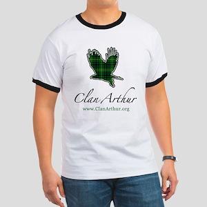 Clan Arthur Eagle Ringer T