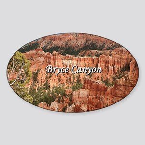Bryce Canyon, Utah 20 (caption) Sticker
