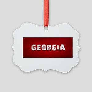 GEORGIA Picture Ornament