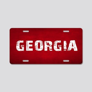 GEORGIA Aluminum License Plate