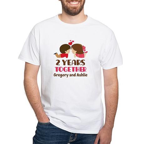 1983 Coppie Di Anniversario Delle Donne T-shirt Scura 9UhWUW