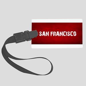 SAN FRANCISCO Large Luggage Tag