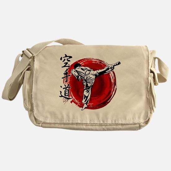 Cute Shotokan karate Messenger Bag