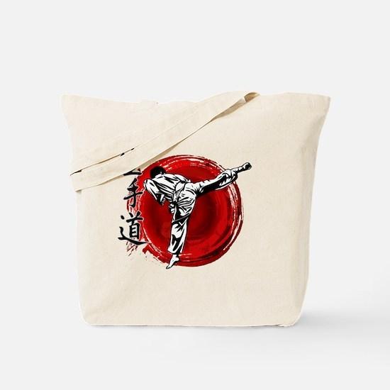 Unique Kyokushin karate Tote Bag