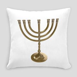 hannukah menorah Everyday Pillow