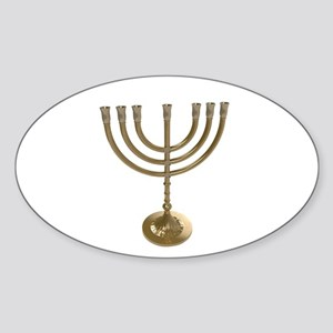 hannukah menorah Sticker