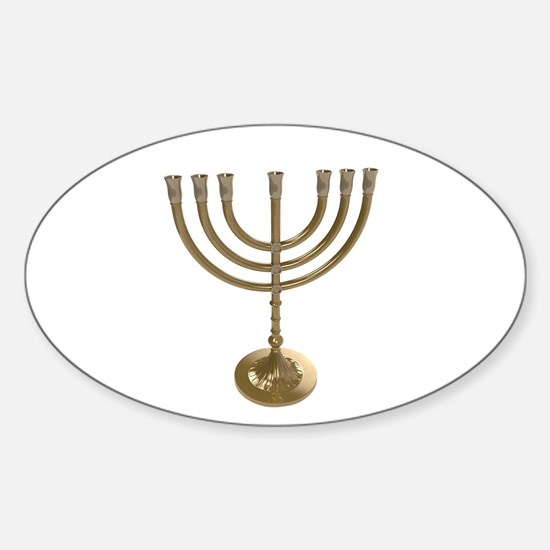 hannukah menorah Decal